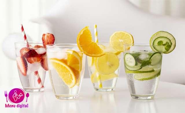 آب دم کرده با میوه به عنوان یک انتخاب سالم