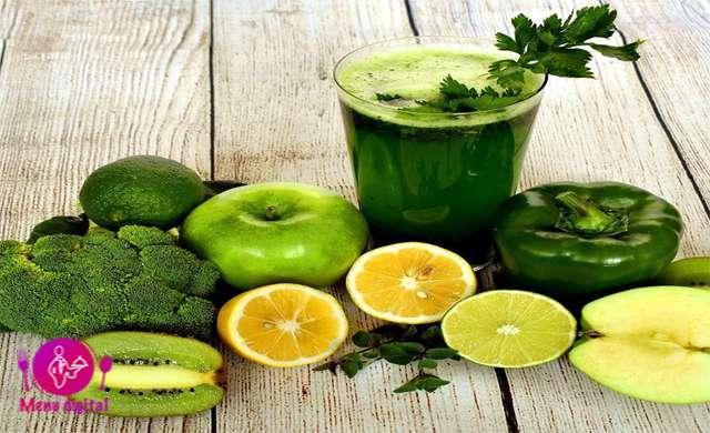 بسط سلیقه تجربه سلامتی آبمیوه سبزیجات