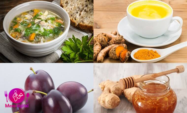 خواربار ضد ویروسی در رژیم غذایی شما