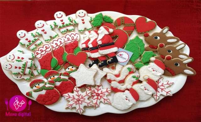 دستور پخت ماهرانه کوکی کریسمس