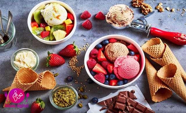 مزیت های شگفت آور بستنی خوردن