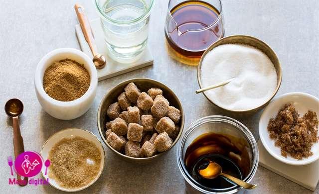 گزینه های سالم شیرین کننده قهوه