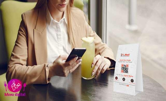 مزیت برتر منوی دیجیتال برای بهبود تعامل با مشتری