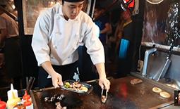 غذای ژاپنی - استیک خیابانی